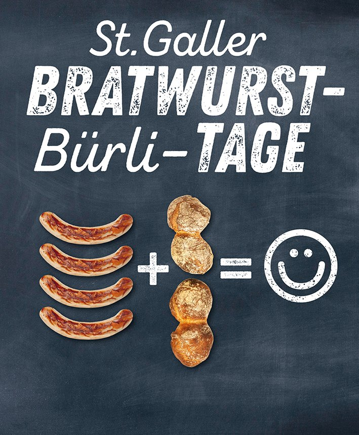 St. Galler Bratwurst- Bürli-Tage